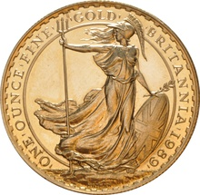 1989 Gold Britannia One Ounce Coin