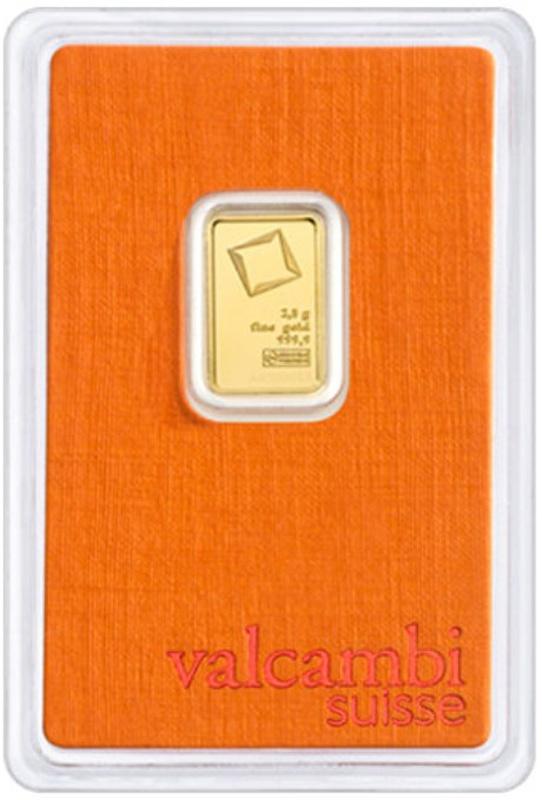 Valcambi 2.5 Gram Gold Bar
