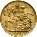 1903 Gold Sovereign - King Edward VII - S