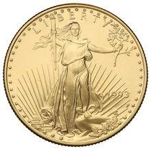 1993 Proof Half Ounce Eagle Gold Coin