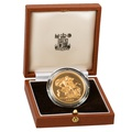 1984 - Gold £5 Proof Coin (Quintuple Sovereign) Boxed