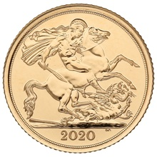 2020 Half Sovereign Gold Coin Gift Boxed