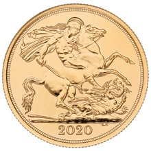 2020 £2 Two Pound Gold Coin (Double Sovereign)