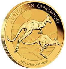 2018 Half Ounce Gold Australian Nugget