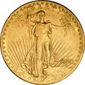 1910 $20 Double Eagle St Gaudens Head Gold Coin Denver