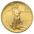 1988 Proof Quarter Ounce Eagle Gold Coin MCMLXXXVIII