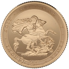 2017 Gold Proof PIEDFORT Sovereign - Elizabeth II 5th Head Boxed