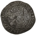 James I Hammered Silver Shilling mm Thistle