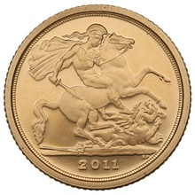 2011 Proof Quarter Sovereign