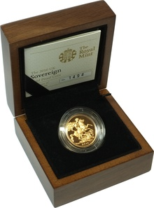 Gold Proof 2010 Sovereign Boxed