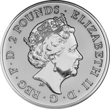 2018 Landmarks of Britain - Trafalgar Square 1oz Silver Coin