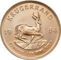 1984 1oz Gold Krugerrand NGC MS67