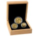 2021 Panda Bullion 3-Coin Set Gift Boxed