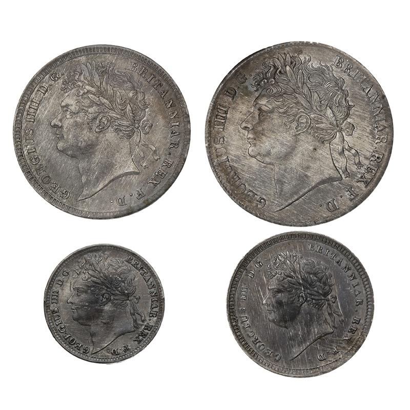 1827 George IV Maundy Set