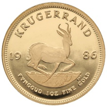 1986 1oz Gold Proof Krugerrand