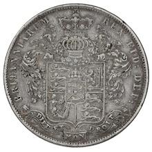 1825 George IV Halfcrown