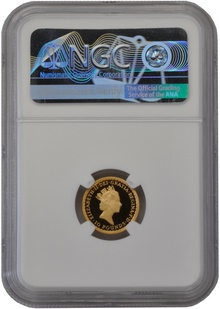 1993 Tenth Ounce Proof Britannia Gold Coin NGC PF70
