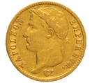 1814 20 French Francs - Napoleon (I) Laureate Head - A