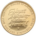1991 Proof Mount Rushmore - American Gold Commemorative $5