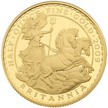2009 Half Ounce Proof Britannia Gold Coin