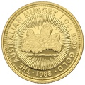 1988 1oz Gold Proof Australian Nugget