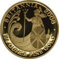 2008 Quarter Ounce Proof Britannia Gold Coin