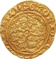 Richard II Gold Quarter Noble - Fine