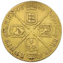 1686 James II Guinea Gold Coin