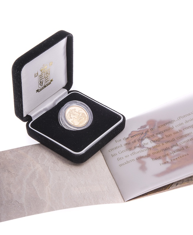 Gold Proof 2006 Sovereign Boxed