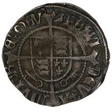 1504-9 Henry VII Hammered Silver Halfgroat York Arch - Bainbridge