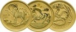 Best Value Perth Mint Lunar - 1/20th Twentieth Ounce Gold Coin