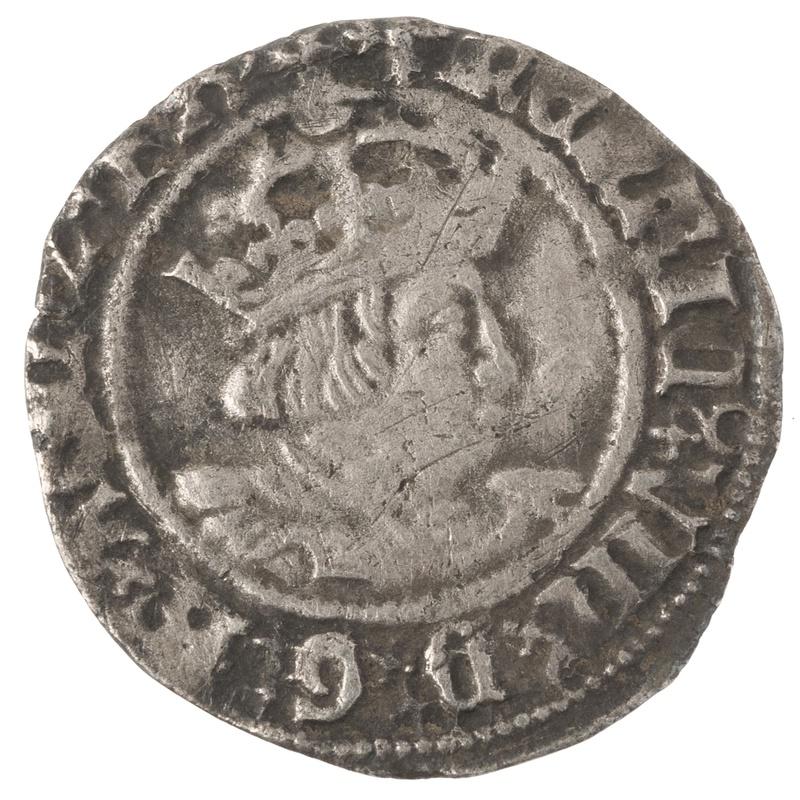 Henry VIII Twopence - Fine