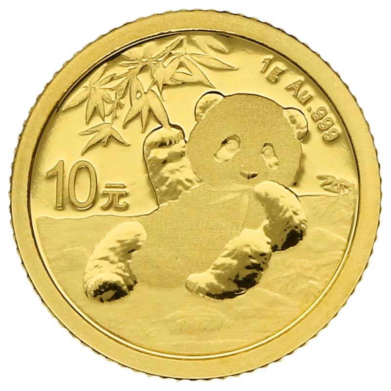 2020 1g Gold Chinese Panda Coin