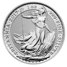 2017 1oz Britannia Silver Coin