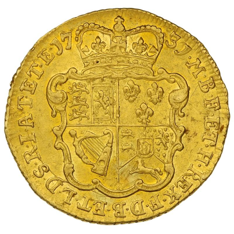 1731 George II Gold Half Guinea
