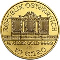 2014 Tenth Ounce Gold Austrian Philharmonic