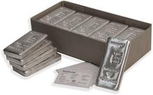 25 x 1kg Silver Metalor Bars
