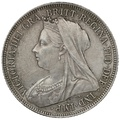 1893 Queen Victoria Silver Shilling