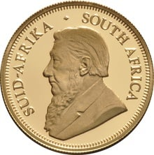 2014 Proof Half Ounce Krugerrand Gold Coin