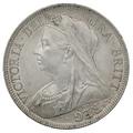 1897 Queen Victoria Silver Halfcrown