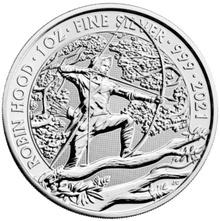 2021 Robin Hood Myths & Legends 1oz Silver Coin