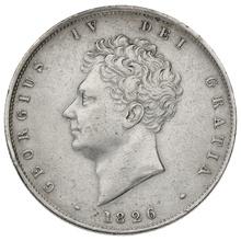 1826 George IV Halfcrown