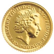 2014 Tenth Ounce Gold Britannia