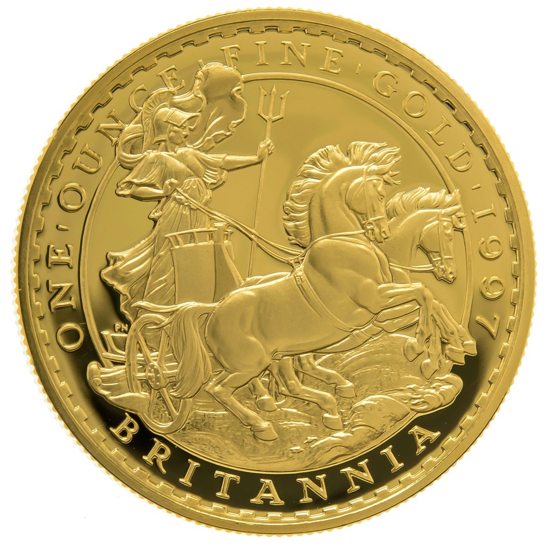 1997 One Ounce Proof Britannia Gold Coin