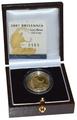 2007 Britannia Quarter Ounce Gold Proof Coin Boxed
