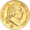 40 French Francs Louis XVIII 1816-1824