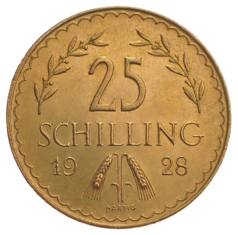 Austrian 25 Schilling Gold Coin
