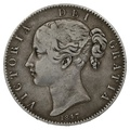 1847 XI Queen Victoria Silver Crown