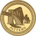 £1 One Pound Proof Gold Coin - Pattern Bridges -2003 Forth Railway