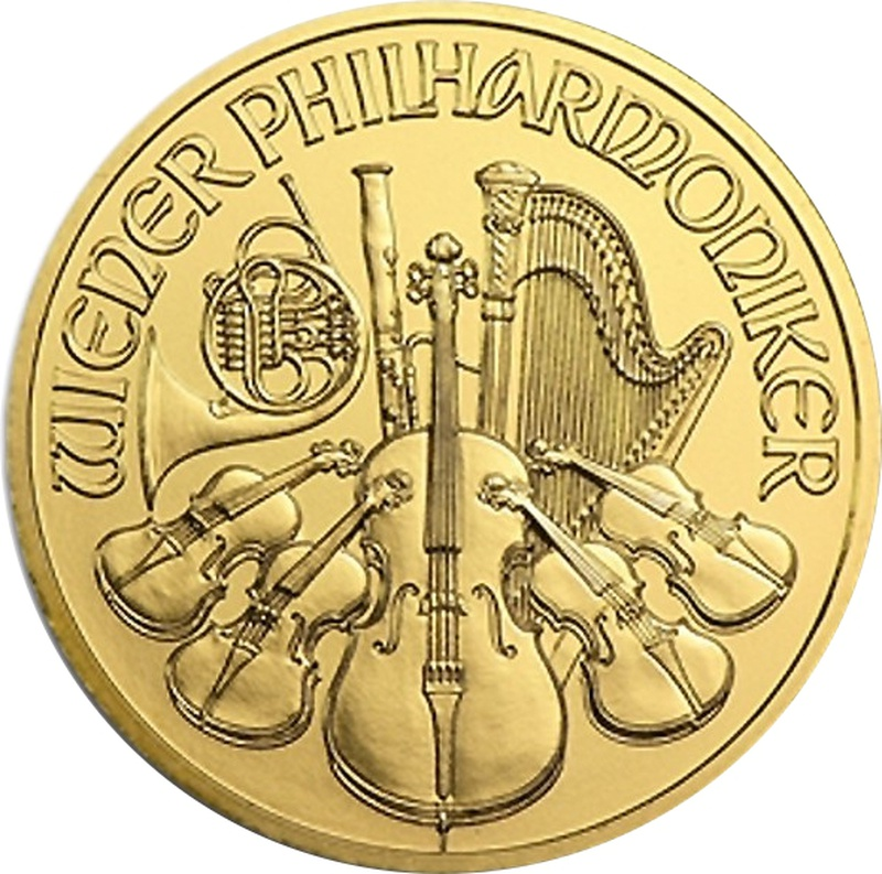 Tenth Ounce Gold Austrian Philharmonic